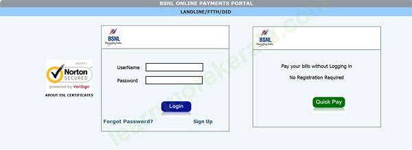 Standardchartered retirement portal bsnl apply payments