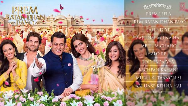 Prem Ratan Dhan Payo (2015) Ringtones Free Download