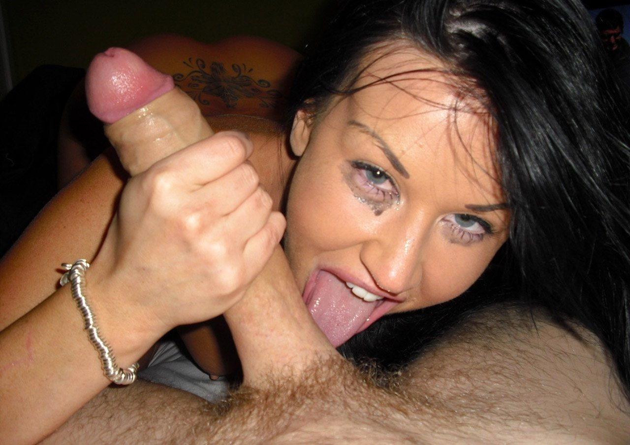 Blowjob cock amateur huge