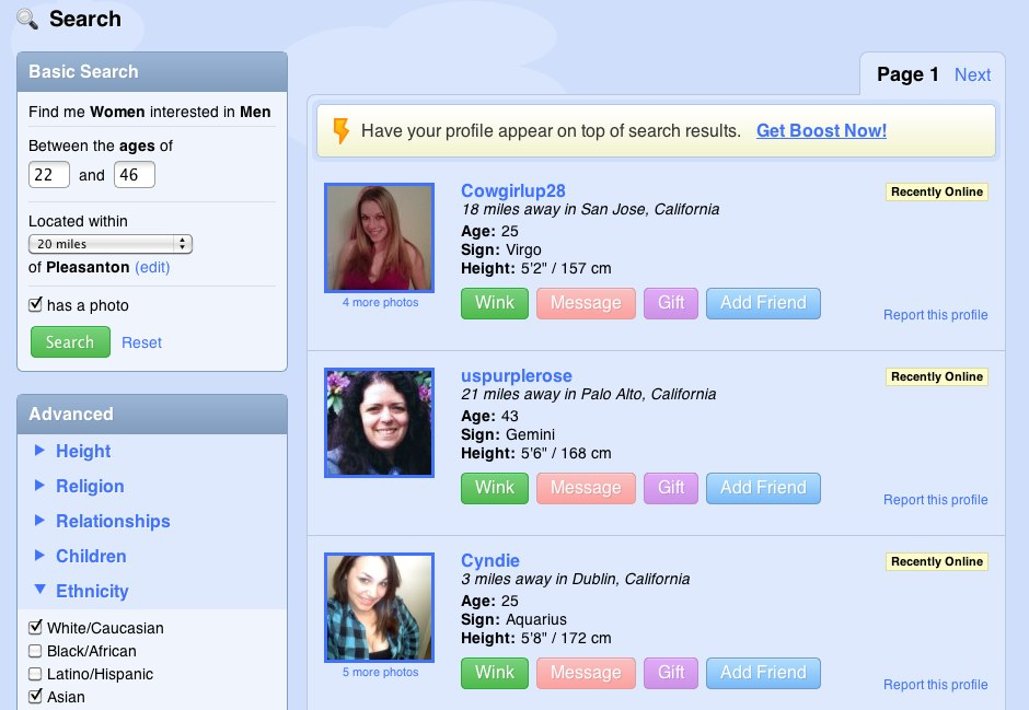 Coupon codes for zoosk dating site