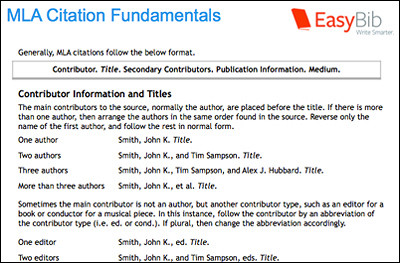 Database    EasyBib EasyBib Adding annotation to EasyBib bibliography