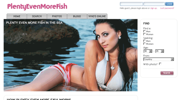 PlentyMoreFish Dating Sites There really are Plenty