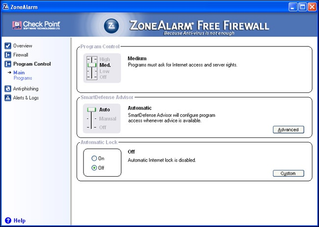 ZoneAlarm Free Firewall - Download - CHIP