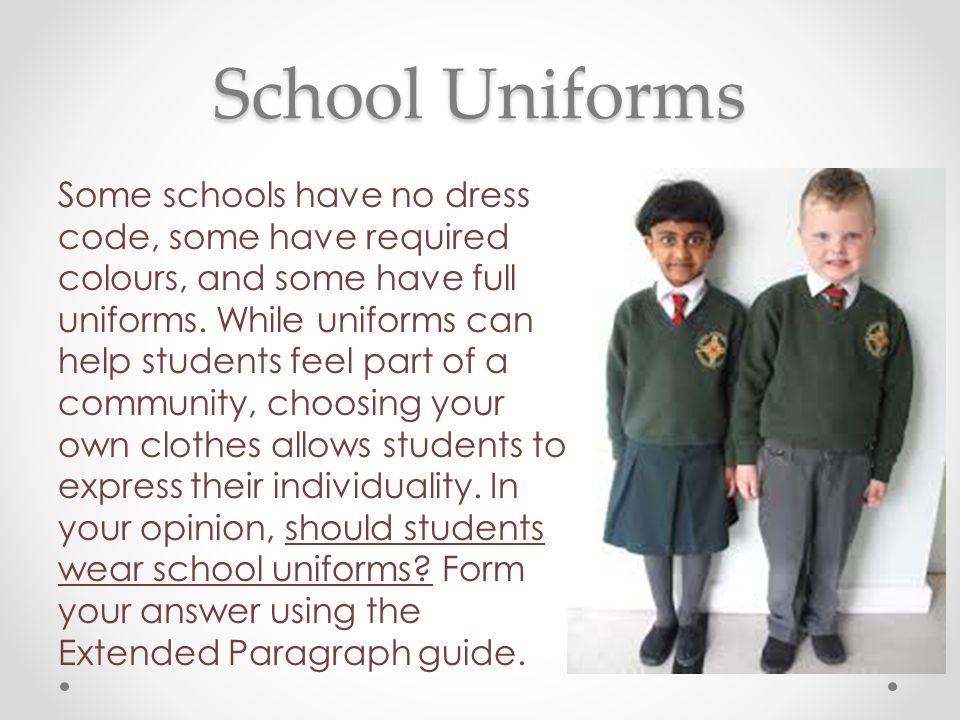 Arguments Against Wearing a School Uniform - LiveAbout