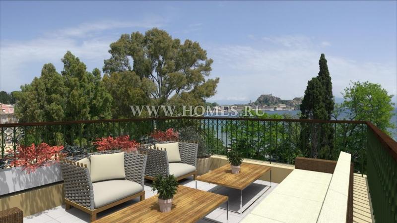 Новые апартаменты в Корфу