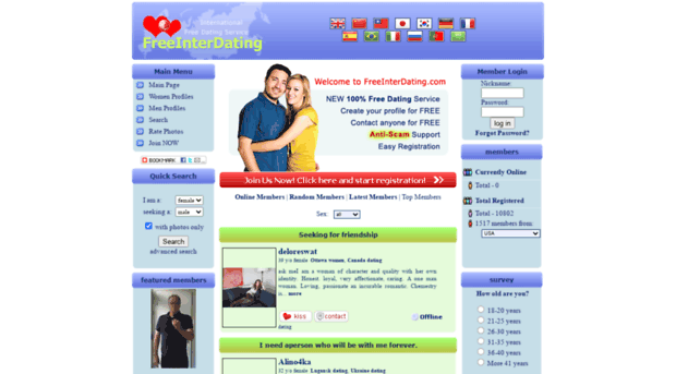 Latest international dating sites