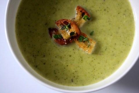суп пюре с курицей и цветной капустой