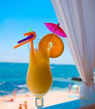 Рецепт Миндально-апельсиновый коктейль