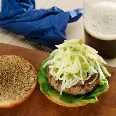 Рецепт Попай-бургер