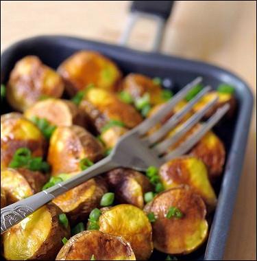 Рецепт Ароматный печеный картофель нагриле