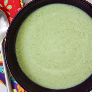 Рецепт Быстрый суп изброкколи