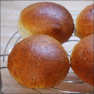 Рецепт Маковые булочки изтворожного теста