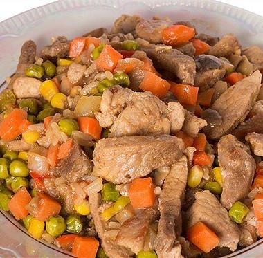 Рецепт Говядина ссоевым соусом иовощами
