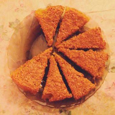 Рецепт Быстрый морковный пирог соспециями