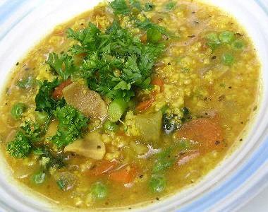 Суп из пшена с говядиной фото #9