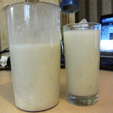 Рецепт Теплое банановое молоко
