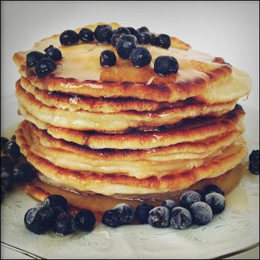 Рецепт Настоящие американские панкейки (American pancakes)