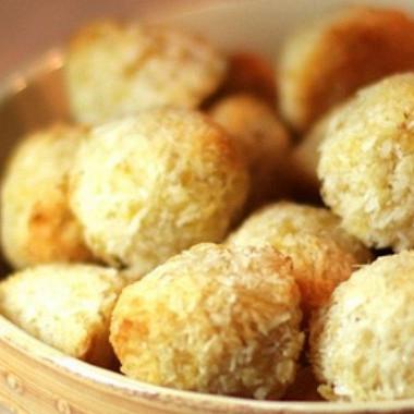 Рецепт Ананасово-кокосовое печенье