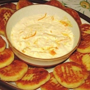 Рецепт Апельсиновые сырники