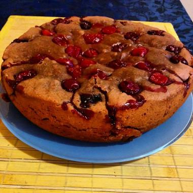 Рецепт Шоколадный пирог сягодами