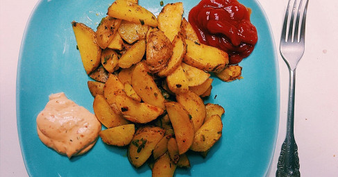 Картофель «Айдахо» пошаговый рецепт с видео и фото – американская кухня, вегетарианская еда: основные блюда