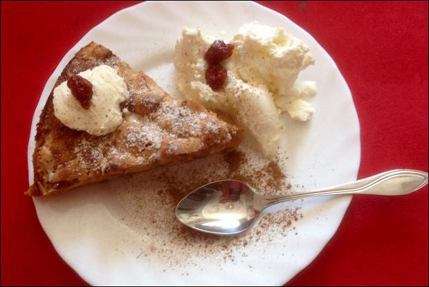 Яблочный пирог простой