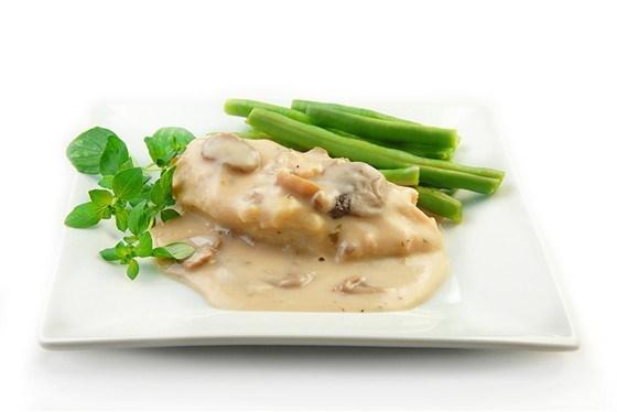 Курица в кремовом соусе