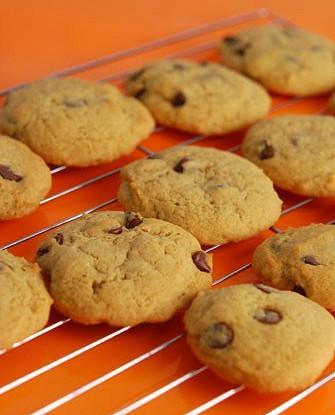 Мягкое печенье с шоколадными кусочками