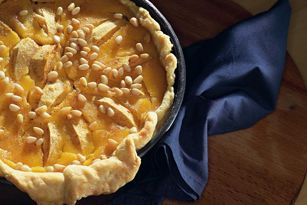 как приготовить яблочный пирог с медом и лимоном