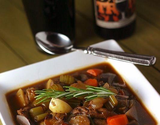 Зимний суп с говядиной