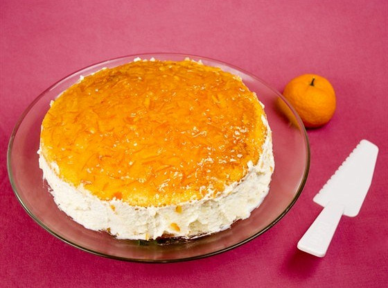 Апельсиновый ароматный пирог