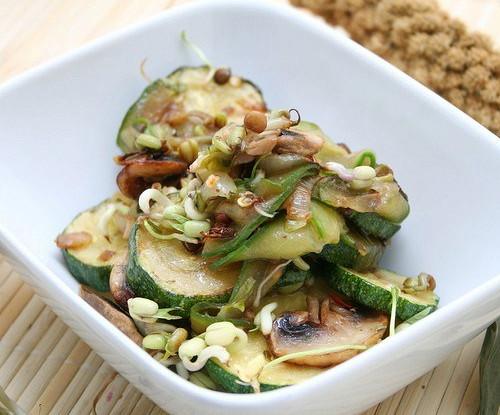 Горячий салат «Летний»