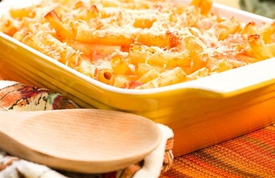Запеченная паста с сыром