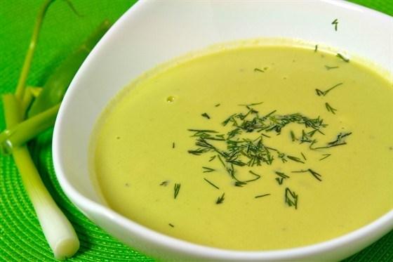 Суп из кресс-салата со сливками