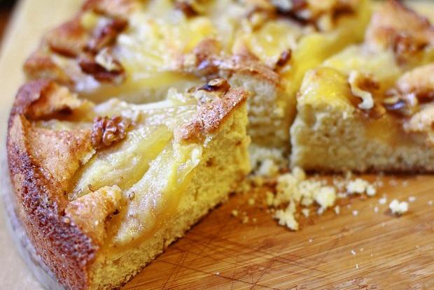Рецепт пирога из груши