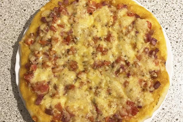 Нежное тесто для пиццы