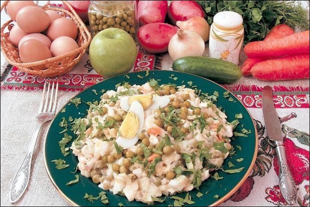 Оливье по-советски рецепт салаты с морковью: салаты афиша-еда