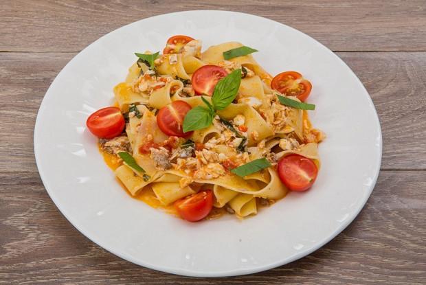 Вегетарианская паста с помидорами Черри|Рецепт с фото
