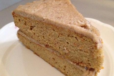 Ореховый торт без сахара и муки