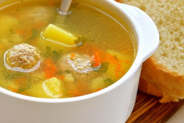 рецепт суп с фрикодльками