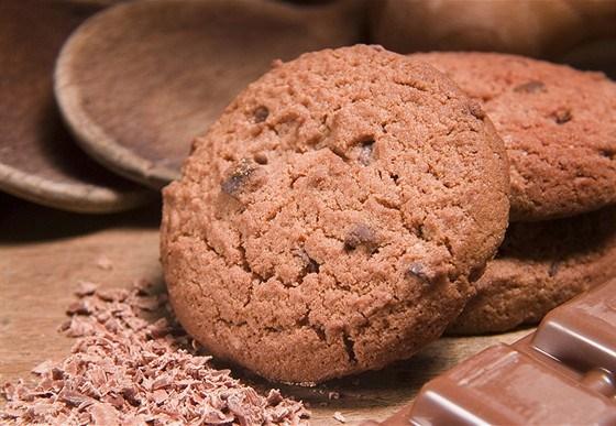 Имбирно-шоколадное печенье