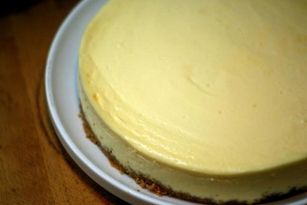 чизкейк рецепт с фото лимонной цедрой