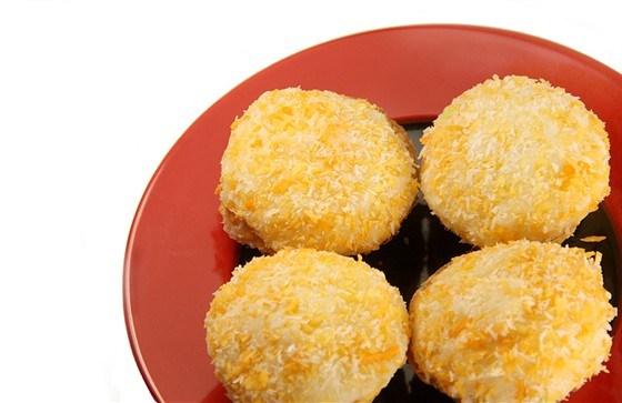 Кокосовое печенье с тростниковым сахаром