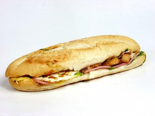 Сэндвич с яичницей