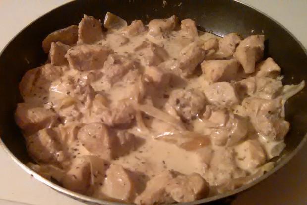 Курица в сметанно-соевом соусе «Грибной вкус без грибов»
