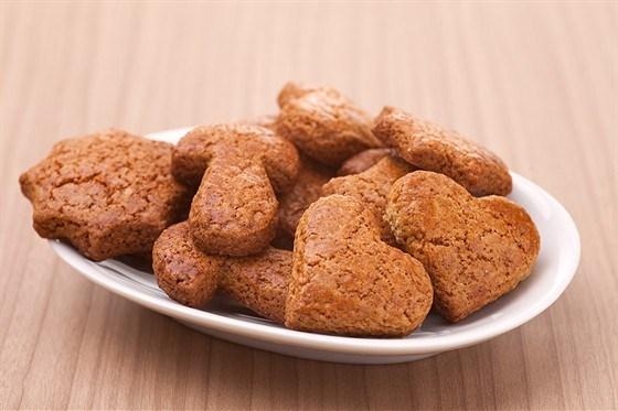 Печенье из засахаренного имбиря с пятью специями