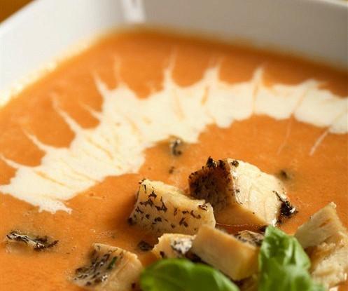 Рыбный суп со сливками и карри