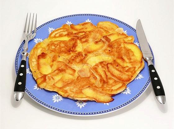 Апфельтатш (яблочный омлет по-гризонски)