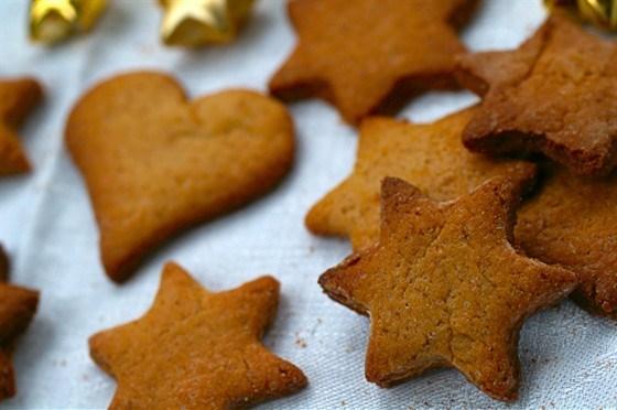 Ванильное бисквитное печенье