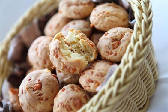 Кексы с арахисом